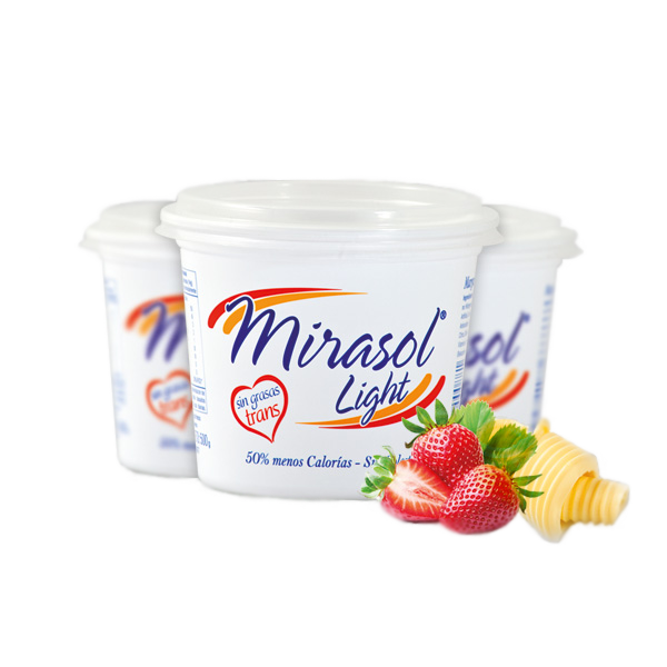 Margarina Ligera Mirasol Light